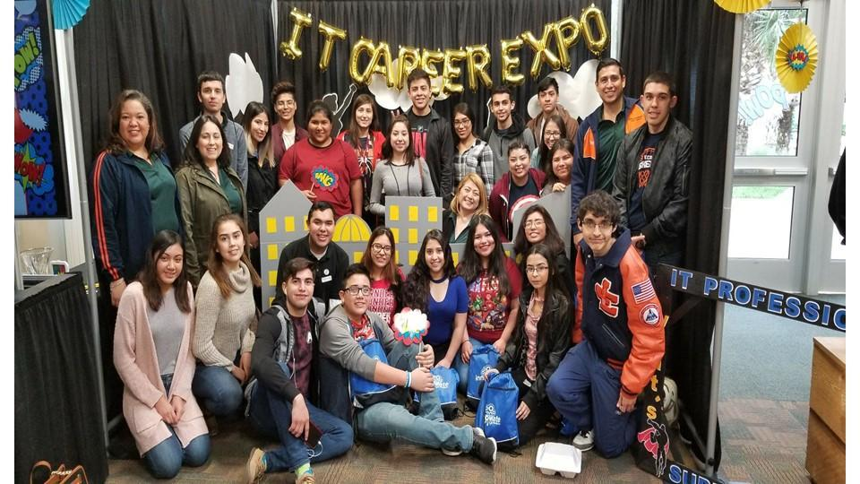 JEHS Students at STC I.T. Career Expo