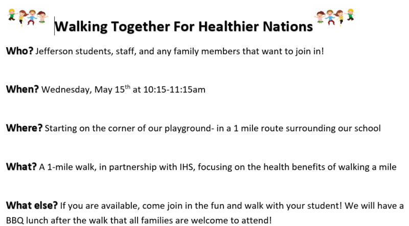 Walking Together For Healthier Nations Featured Photo