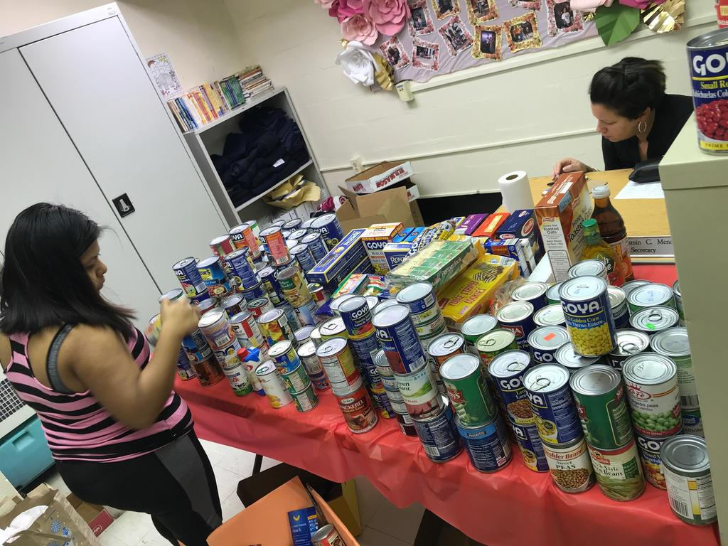 canned goods collection