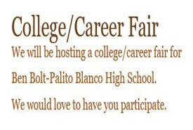 College/Career Fair Nov. 26 Featured Photo
