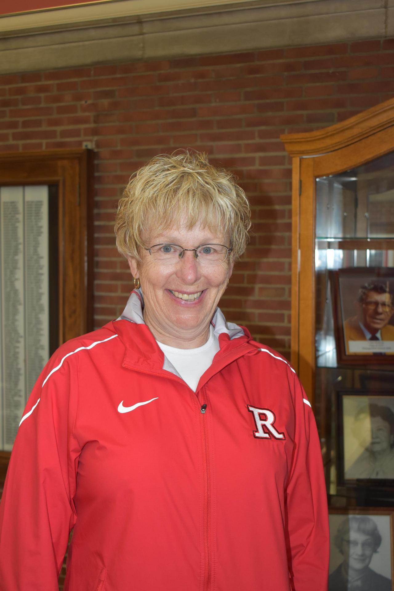 RHS Principal Ms. Rae Woolpy
