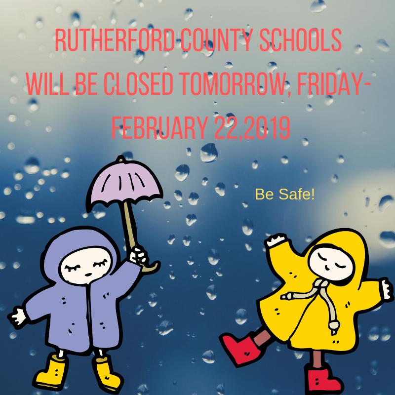 RCS Closed Friday