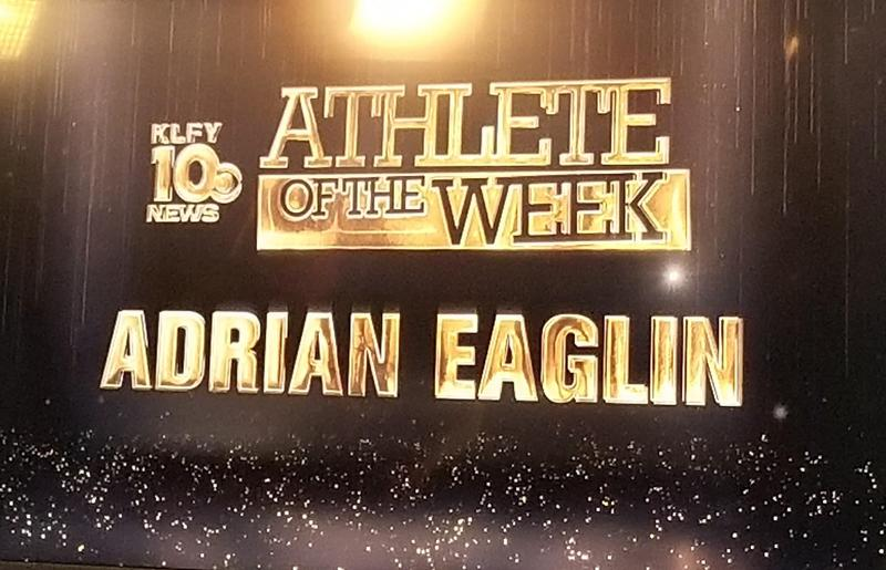 Announcing Adrian Eaglin as KLFY Athlete of the Week for Soccer at BCHS