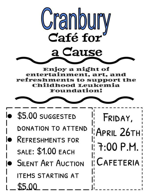 Cranbury Cafe for a cause