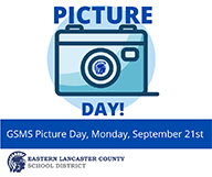 GSMS Picture Day Announcement Image