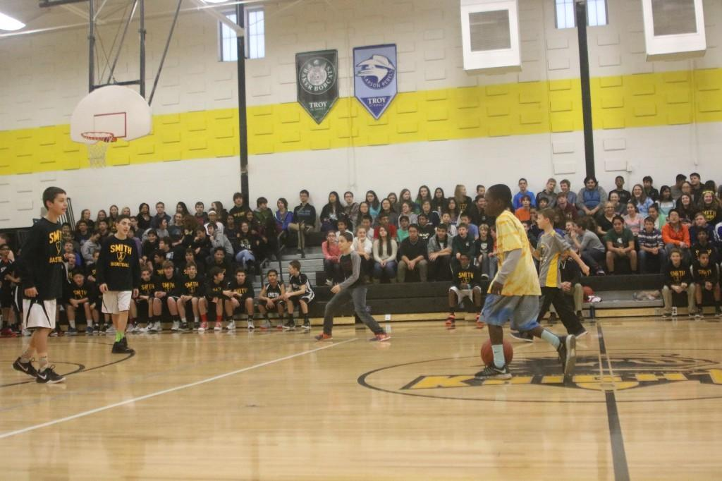 December 2015 Assembly in the gym