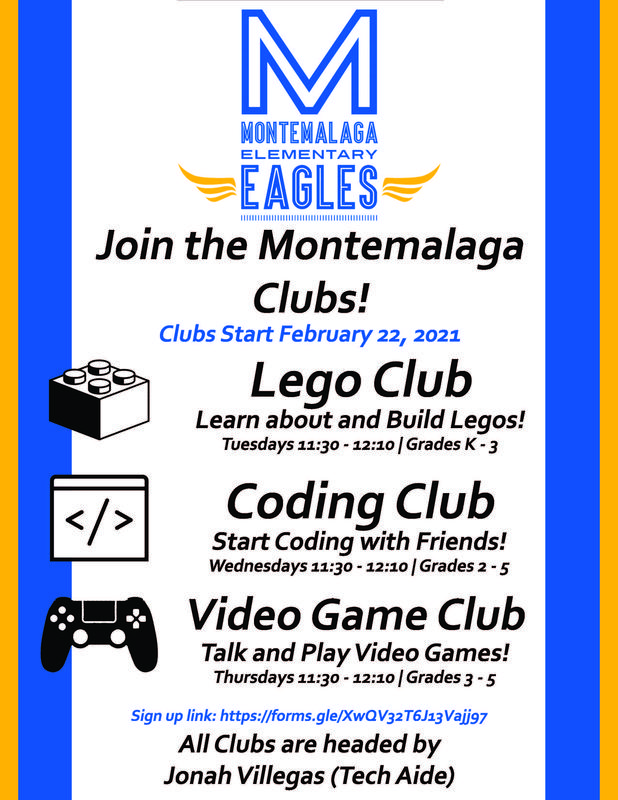 Montemalaga Lunch Time Clubs Thumbnail Image