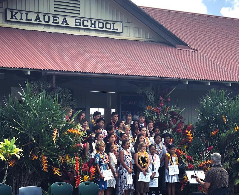 Kilauea School 6th Grade Class 2019