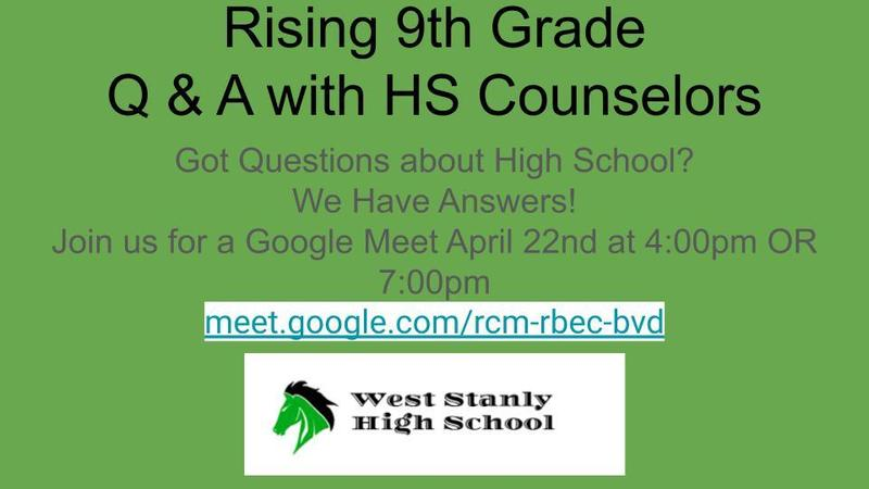 Rising 9th Grade Q & A Session Featured Photo