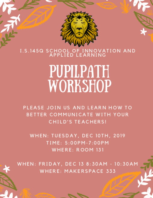 Flyer of what the workshop has to offer