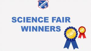 Science Fair Winners' Graphic