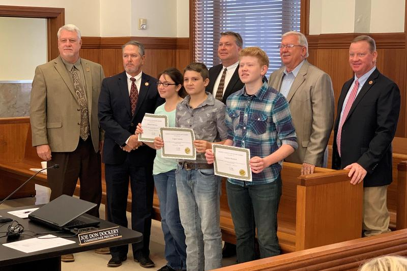 BMS Artwork recognized by Commissioners Court Thumbnail Image