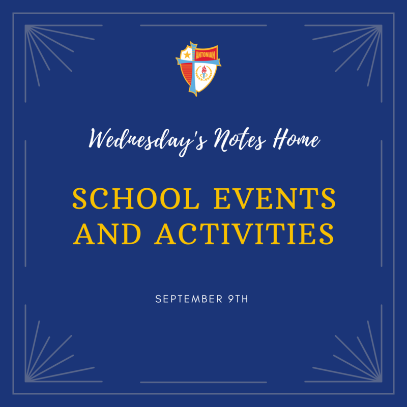 September 9th | School Events and Activities Featured Photo