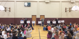 AES Yard Sign Assembly