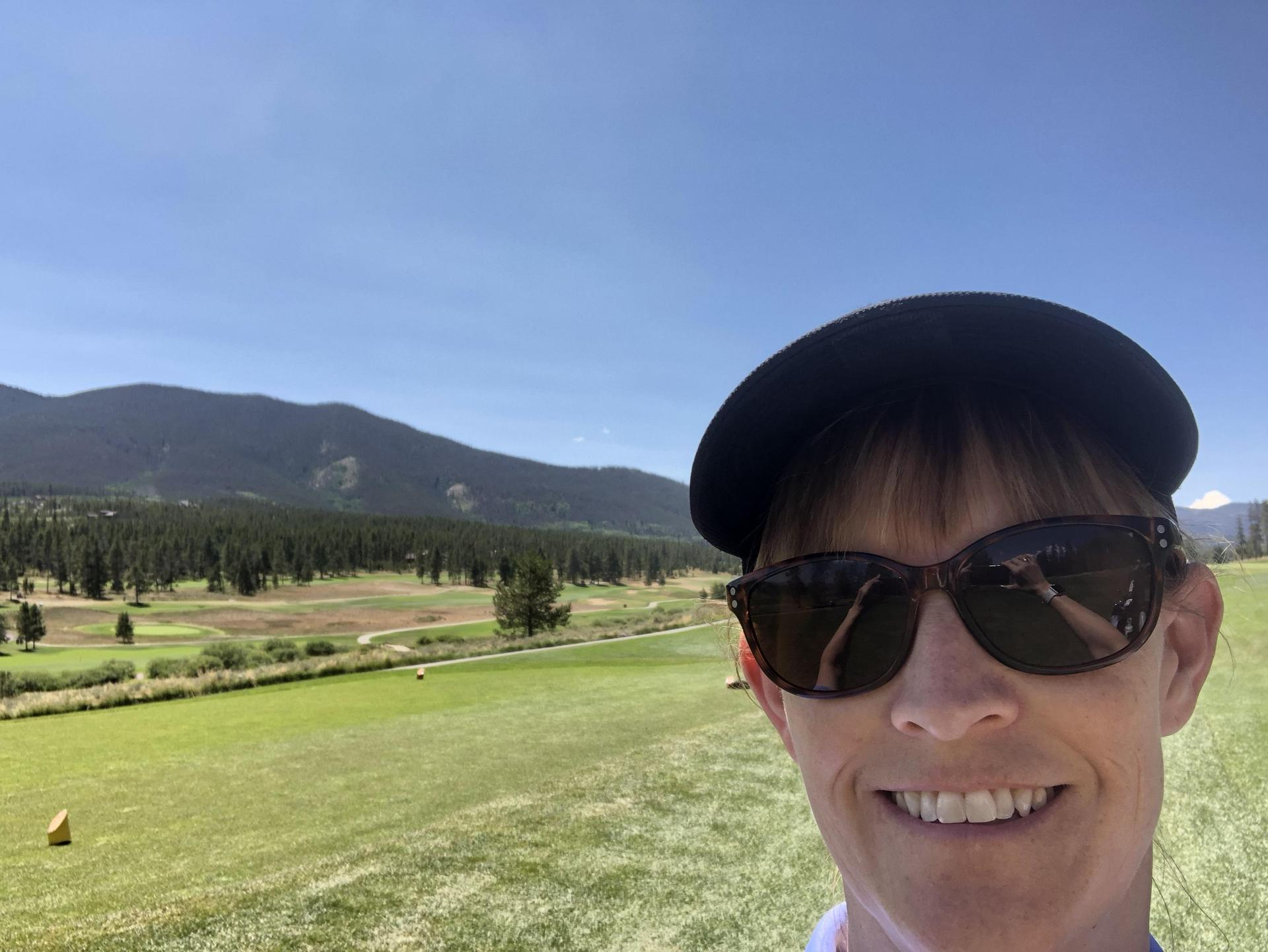 Golfing in the mountains, 2018