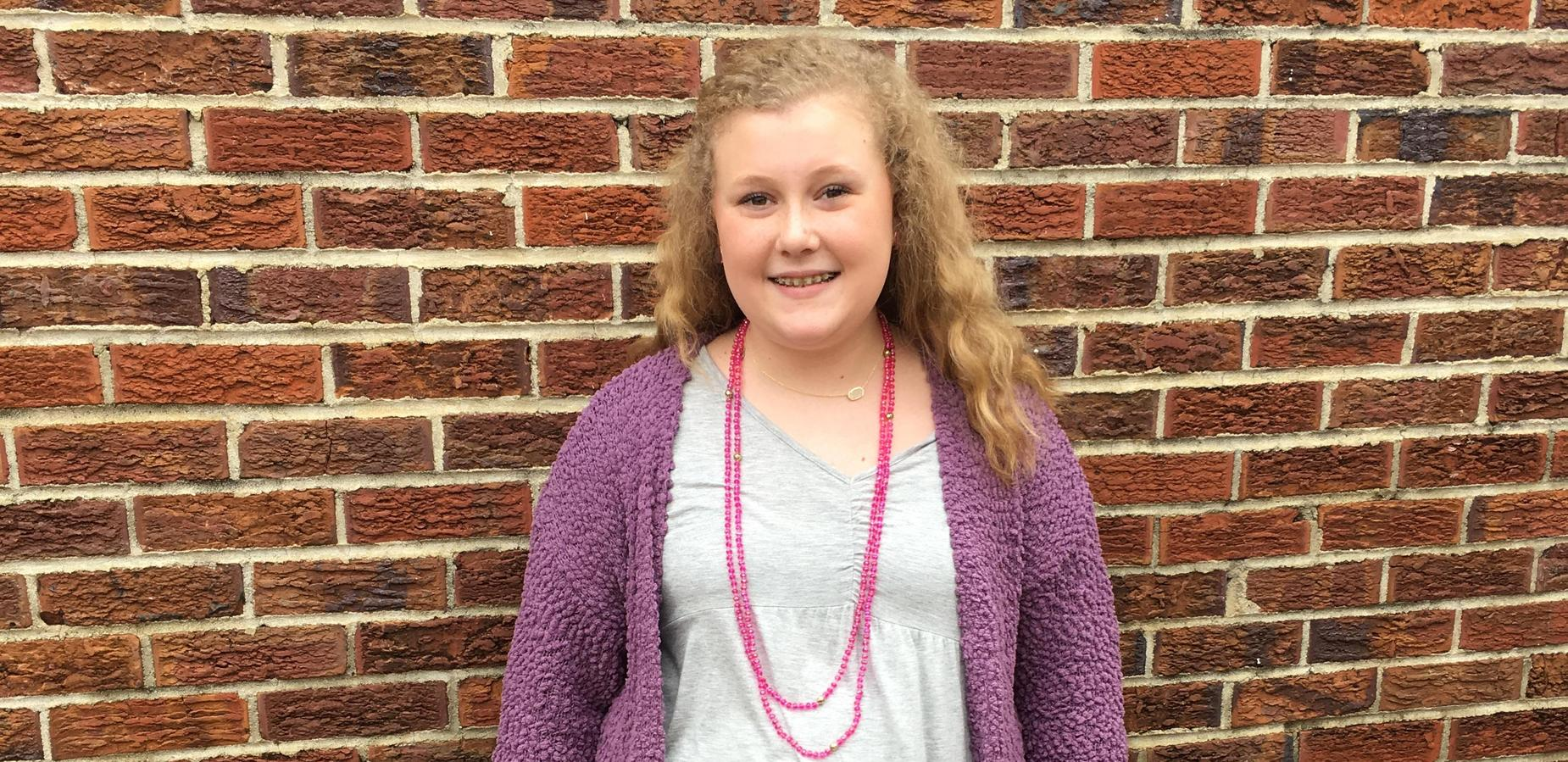 Tishomingo Middle Student, Molly, Chosen as Scholastic Regional Golden Key Recipient and National Silver Medalist for Poetry