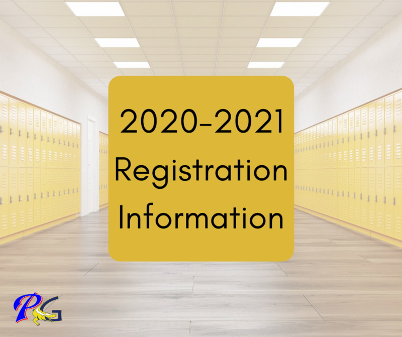PGSD Registration Information