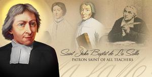 Portrait of St. John Baptist de la salle