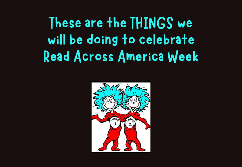 Read Across America Week March 1-5 Thumbnail Image