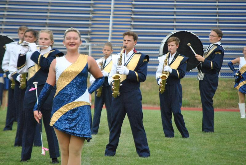 Knoch Marching Band members