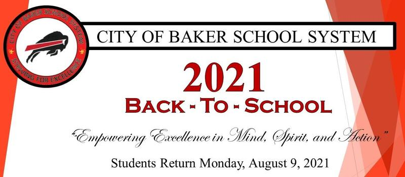 flyer banner that promotes CBSS Back to school
