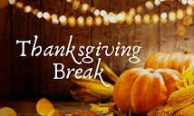 Relax & Enjoy your Thanksgiving Break! Featured Photo