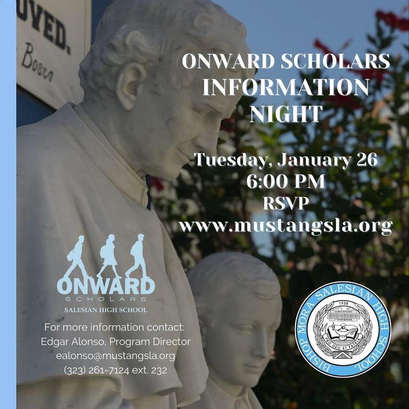 Onward Scholars Information Night RSVP Link Featured Photo