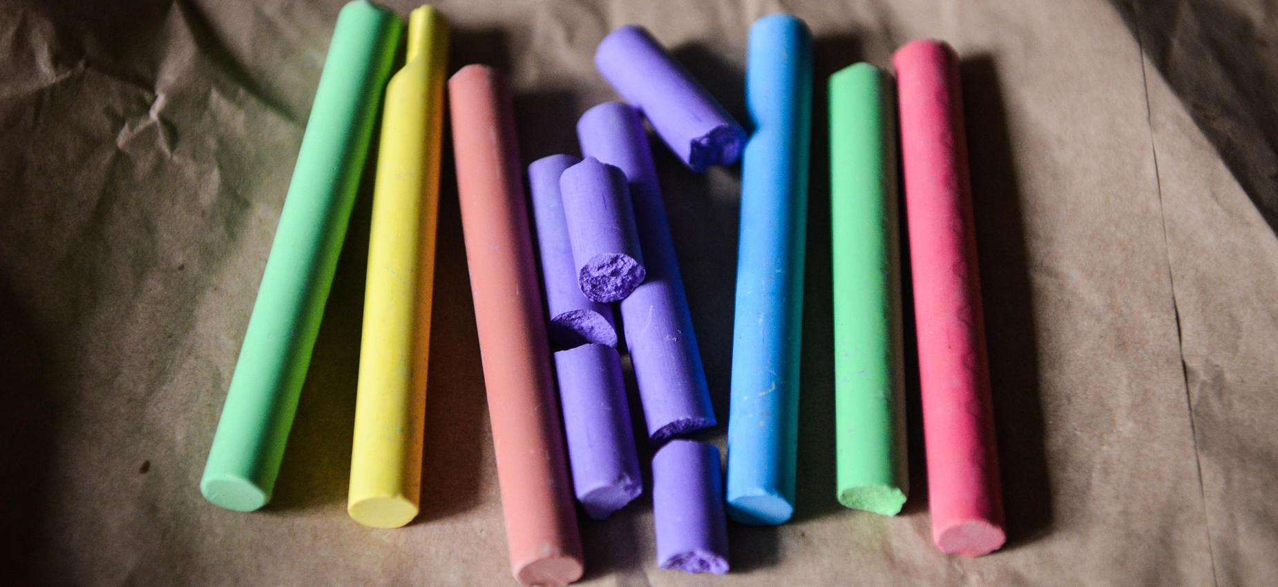 Coloring Chalk