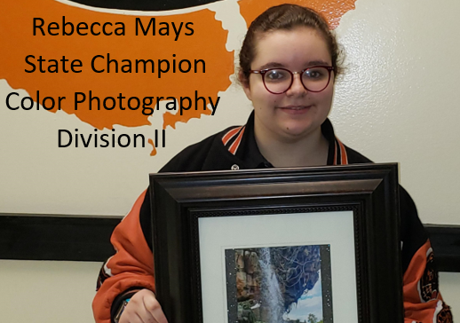 Rebecca Mays, State Champion Color Photography, Division II