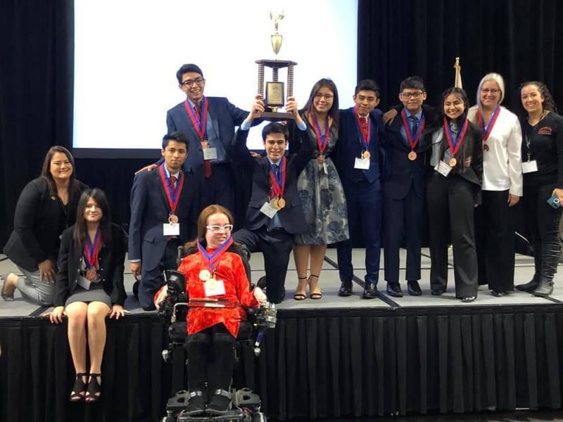 Lancers earned 3rd place in the state Academic Decathlon competition!!! Thumbnail Image