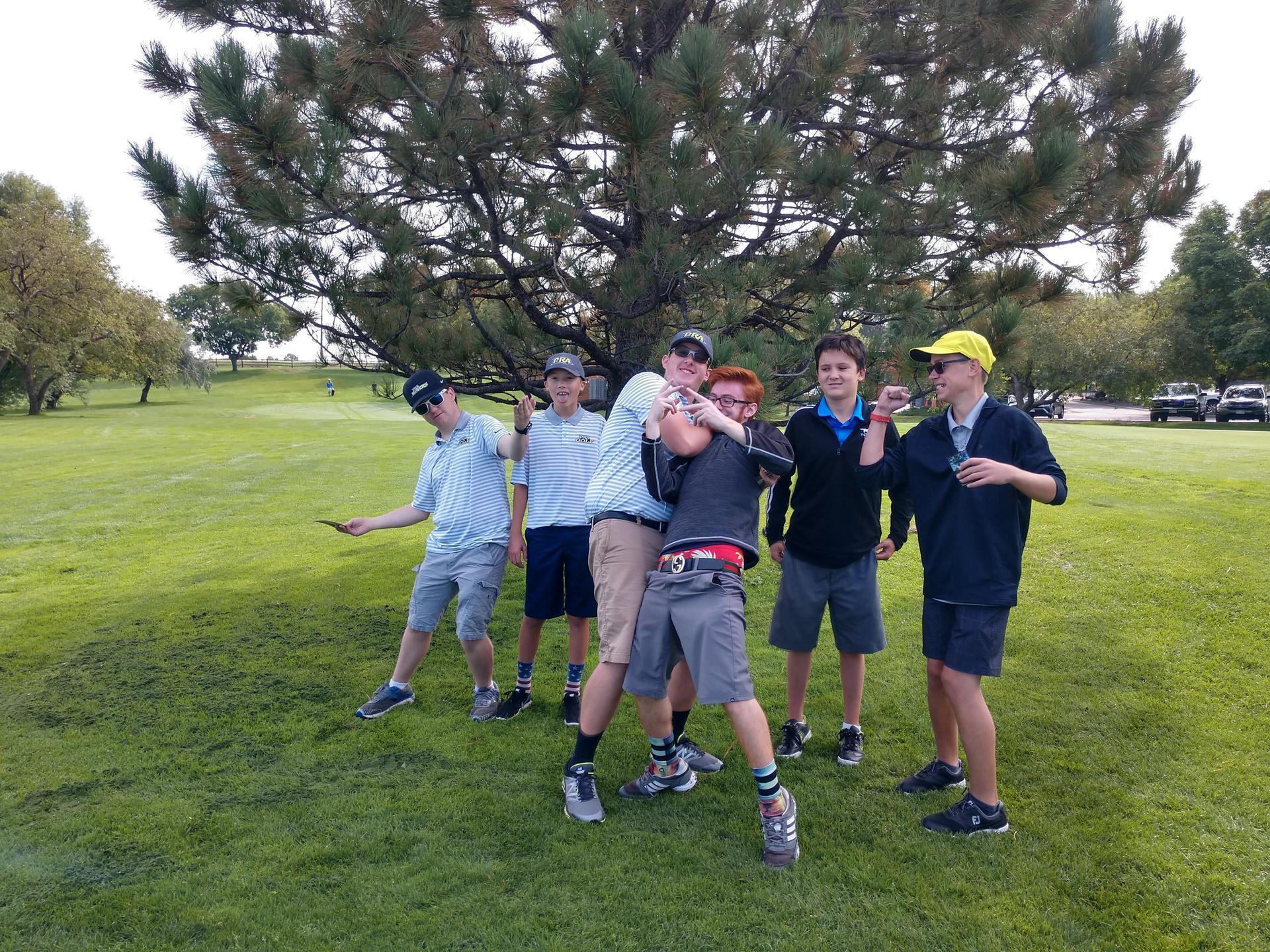 JV team at Indian Tree