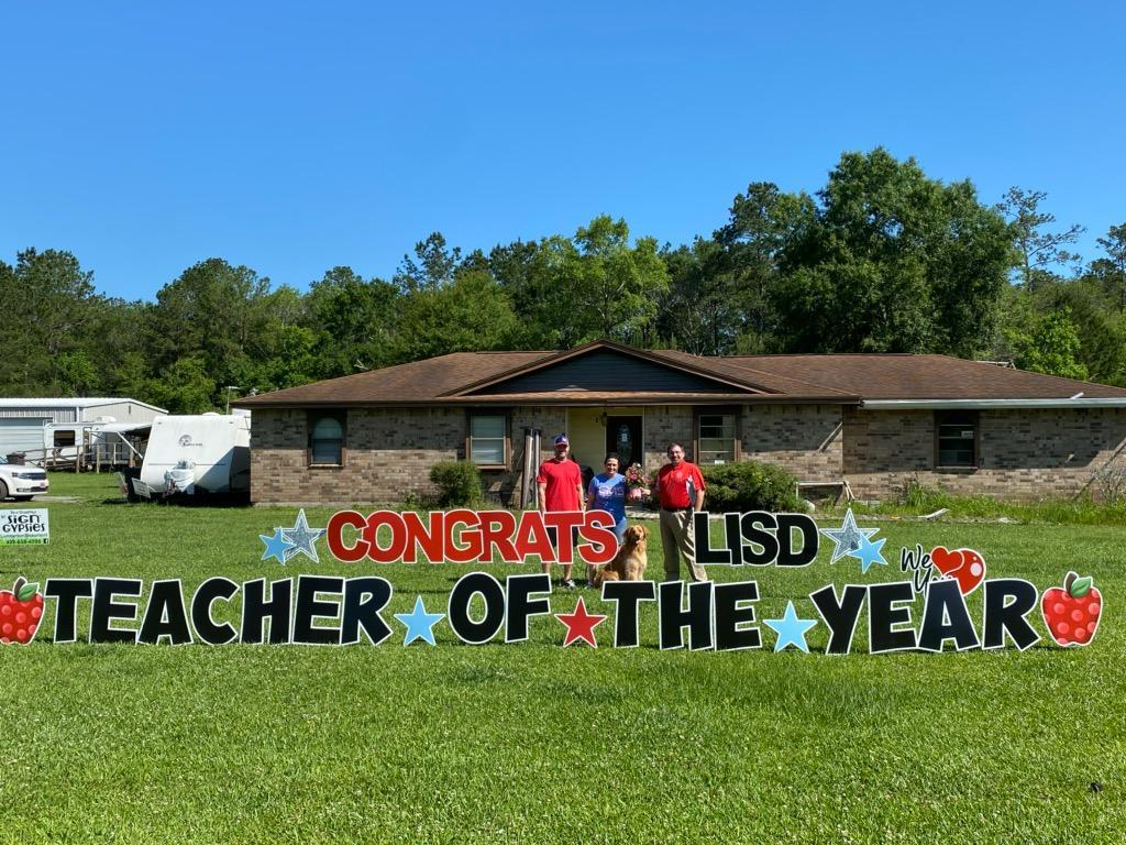 Lori Dyess Secondary Teacher of the Year