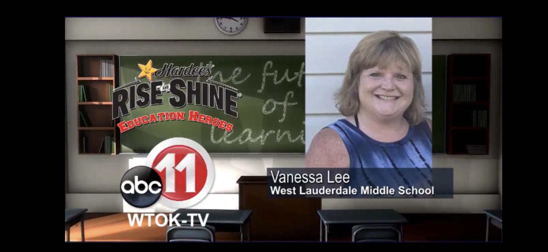 WTOK's Educator Hero is Mrs. Vanessa Lee of WLMS