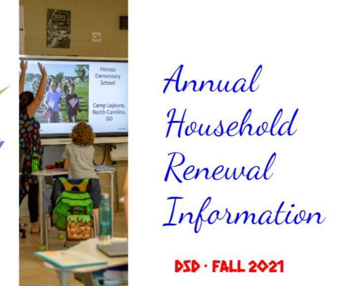 ANNUAL HOUSEHOLD RENEWAL OPENS MARCH 15 Featured Photo