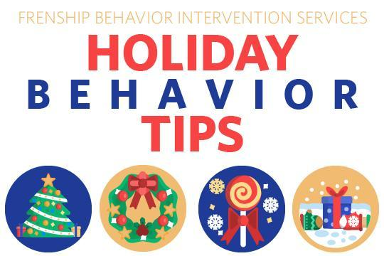 Holiday Behavior Tips