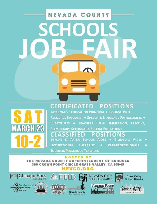 2019 Schools Job Fair