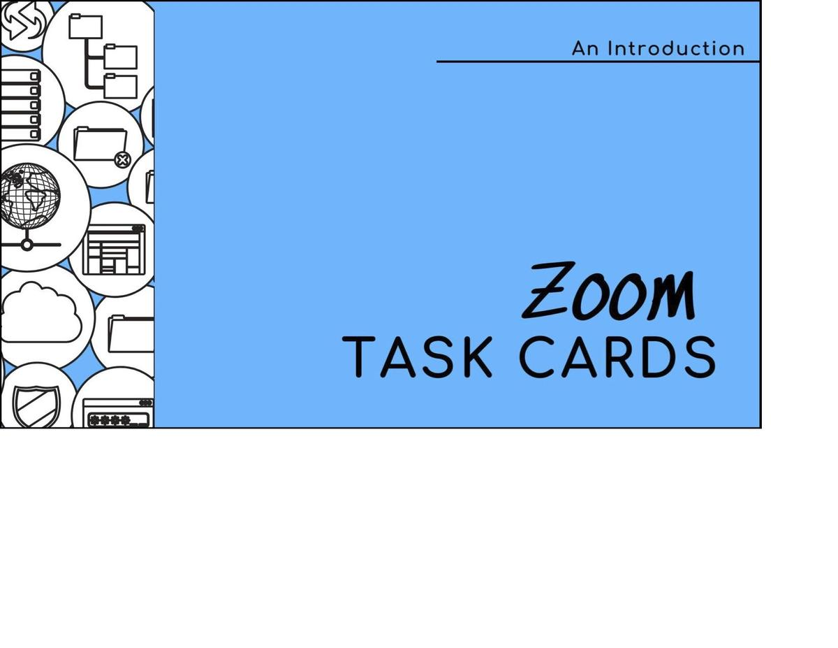 Zoom Task Card Link