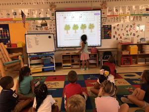 Scheppele's classroom math lesson