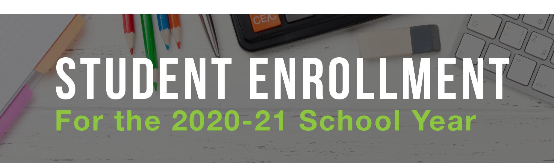 Student Enrollment banner