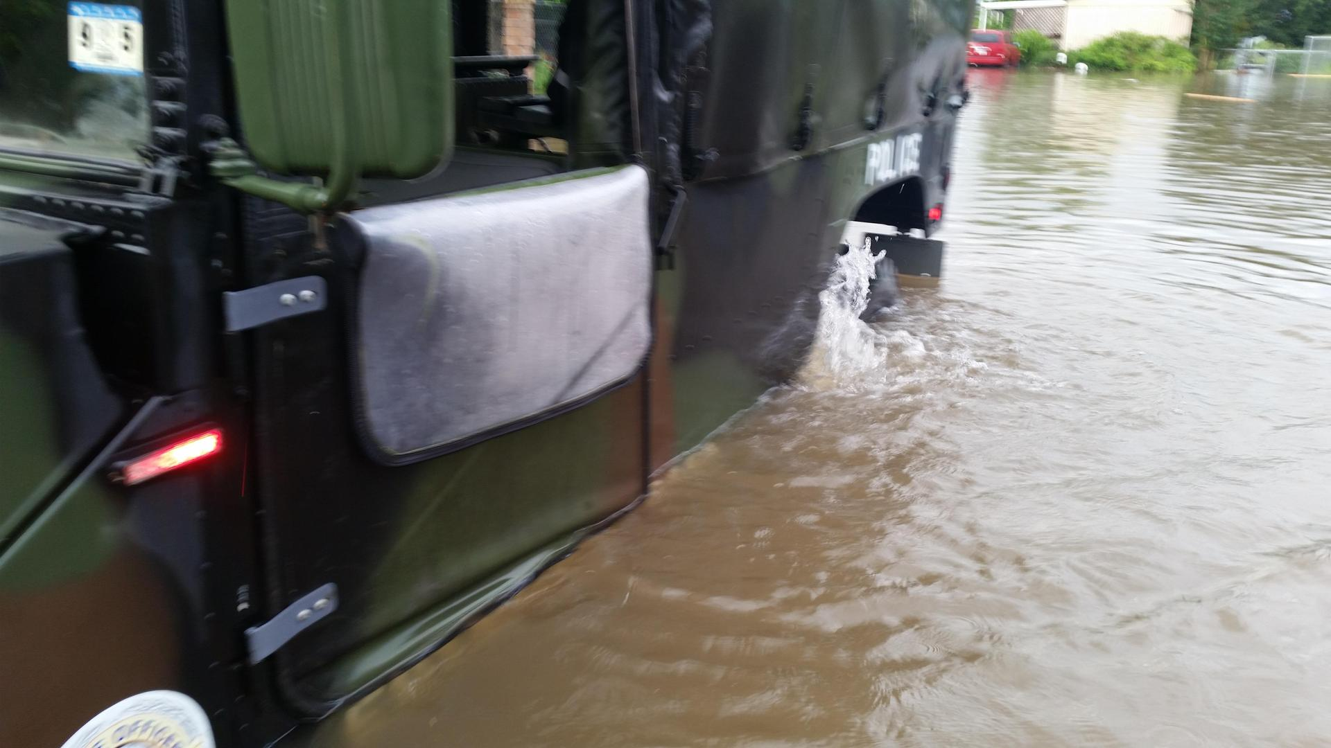 Edinburg Floods