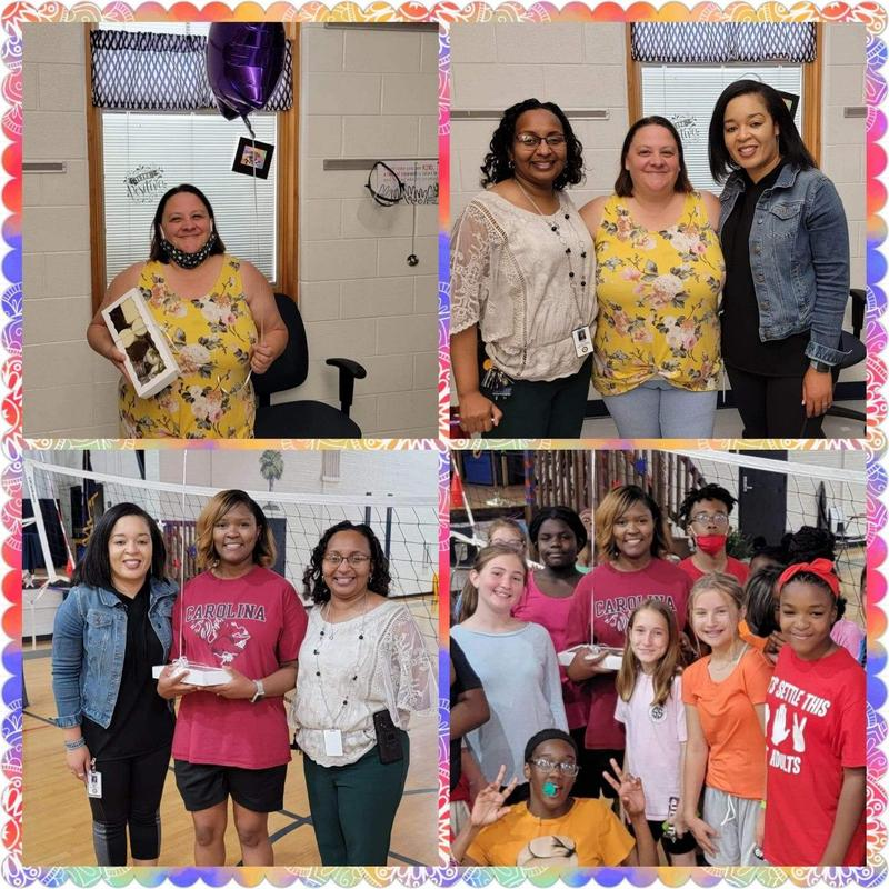 Teacher and Staff of the Month Featured Photo