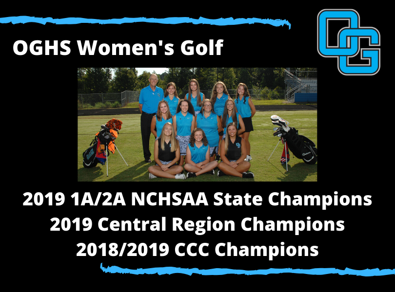 OGHS Women's Golf 1A/2A State Champions