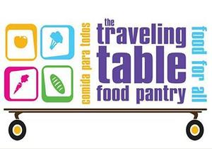Traveling Table logo, which includes icons of healthy foods and the name of the program.