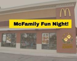 McFamily Fun Night! Featured Photo