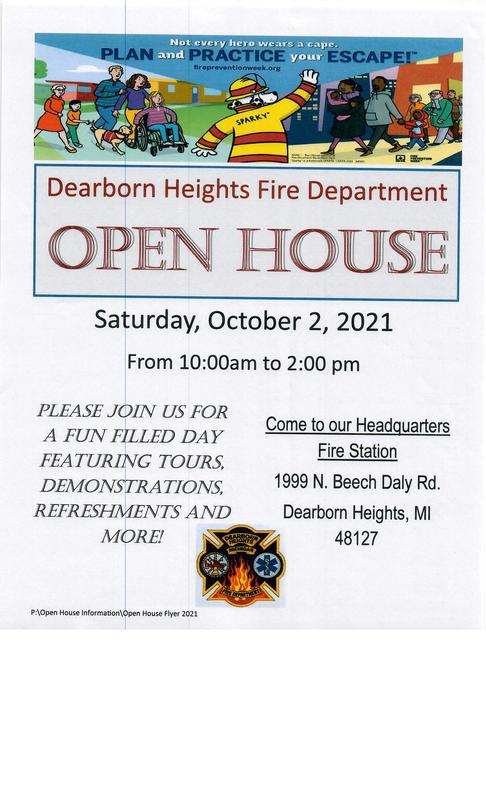 Fire house Open House! Featured Photo