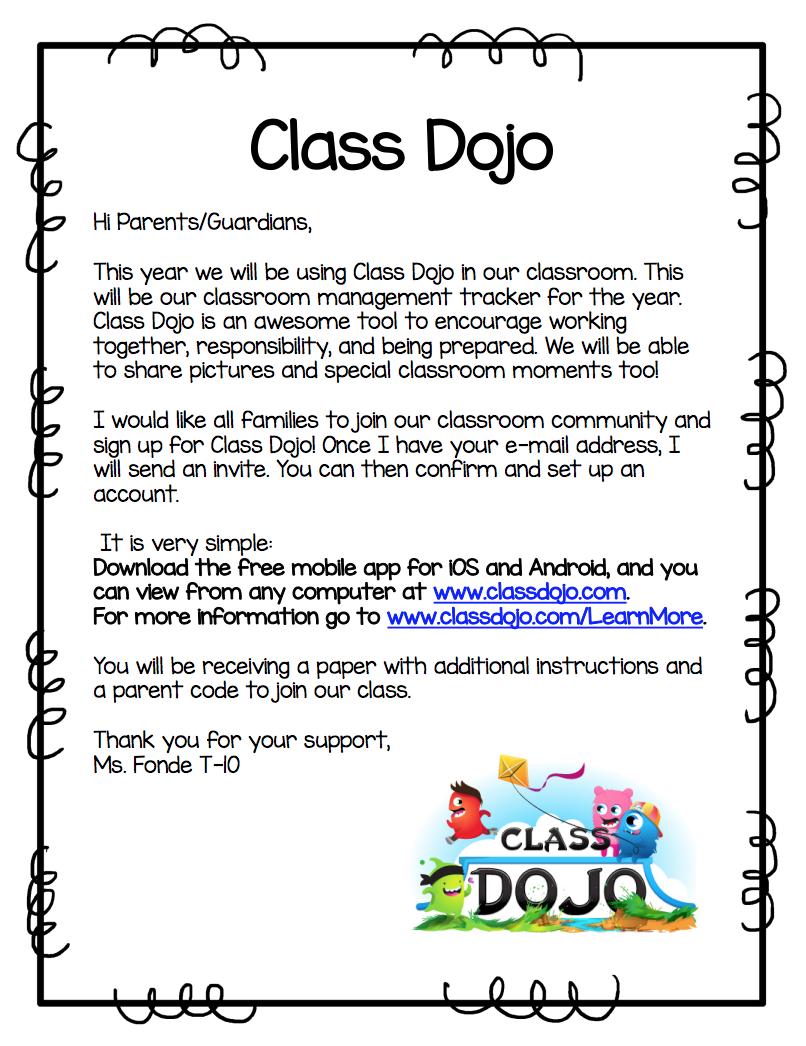 Class Dojo – Kathleen Fonde – Lincoln Elementary School