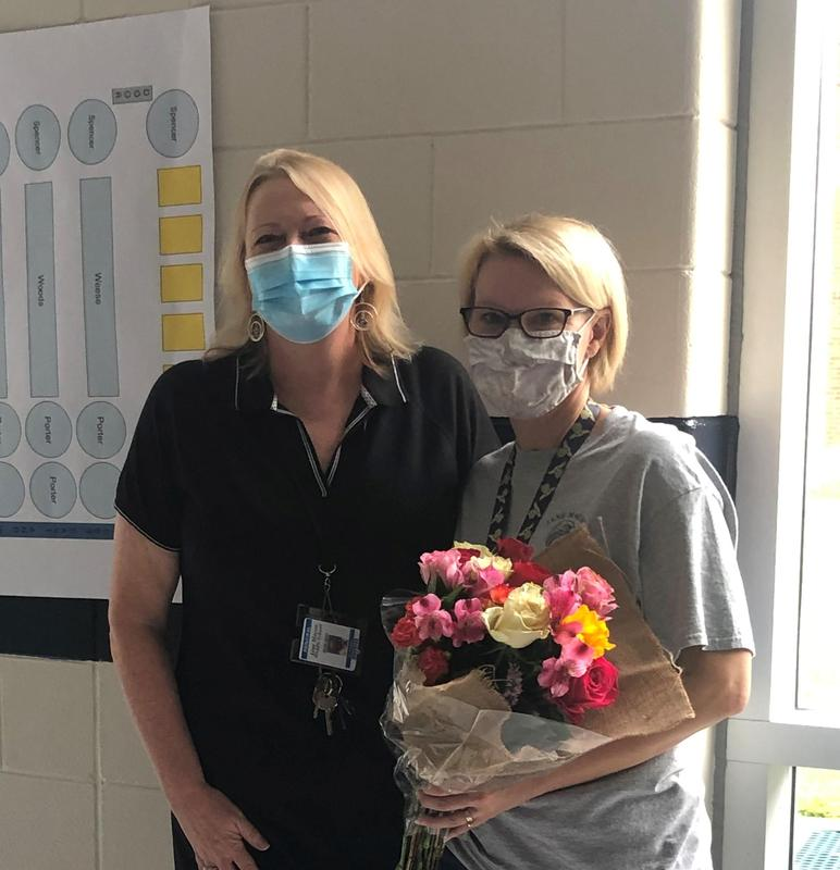L-R: Dr. Forcina and Mrs. Weese