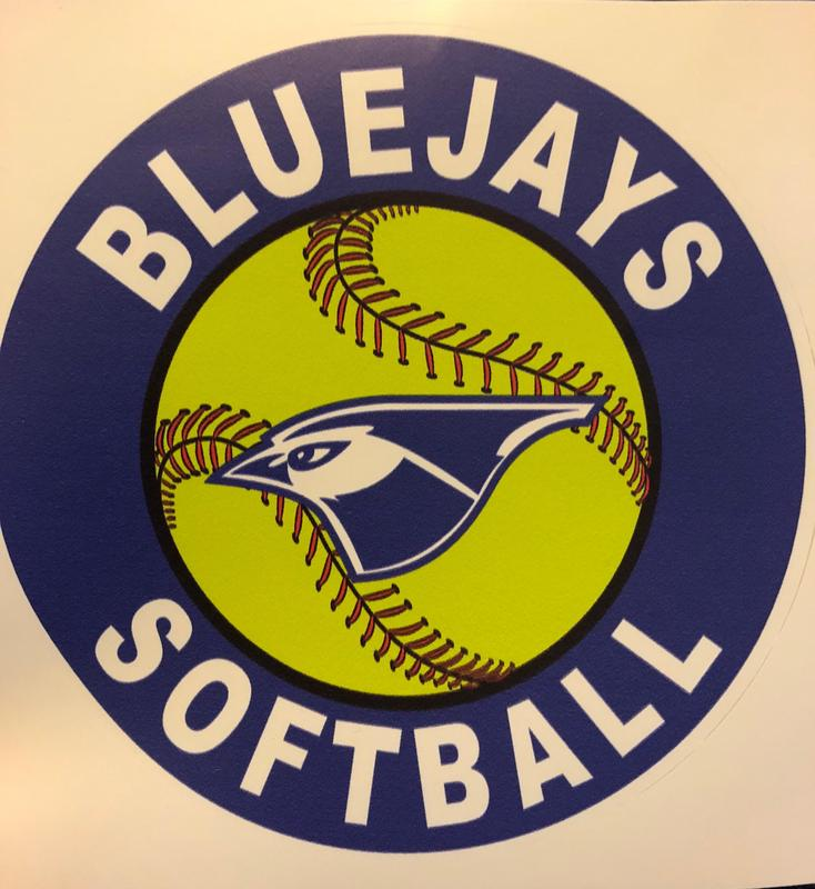 Bluejays softball logo