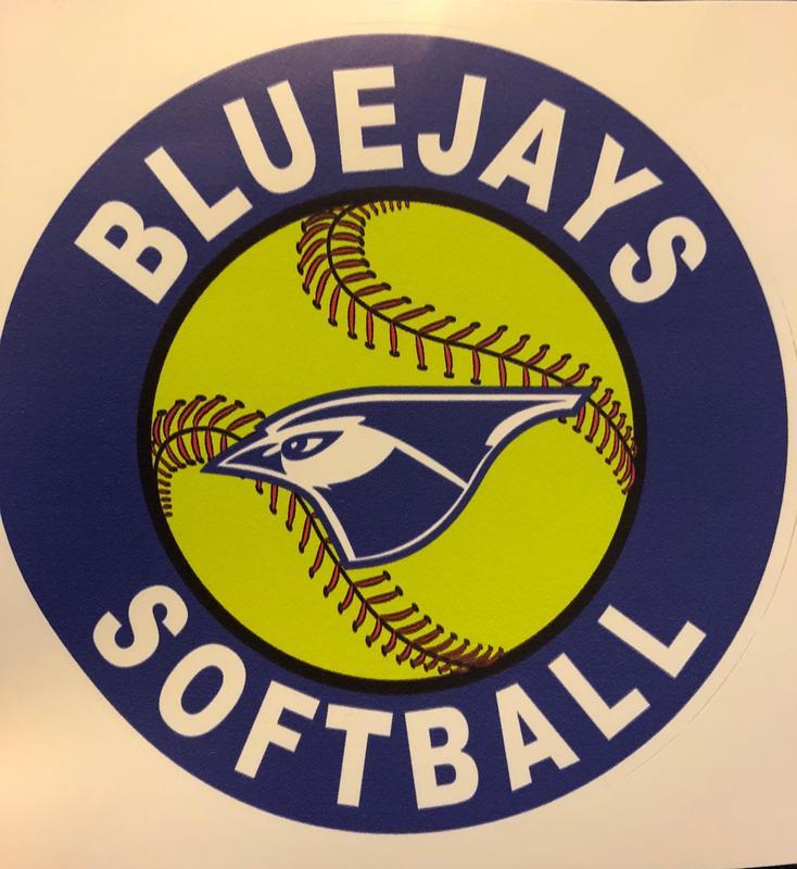 Bluejays softball logo
