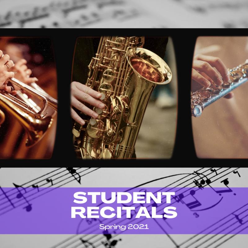 Spring Student Recitals Featured Photo